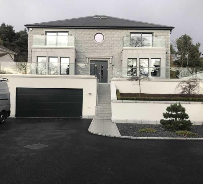 Luxury new build house development and build