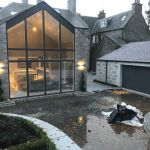 Granite house Extension and build