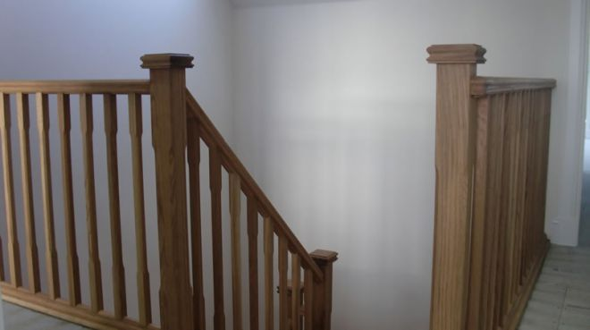 oak banisters