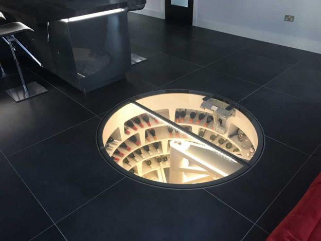 Bespoke underground cellar