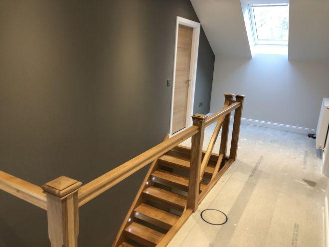 Bespoke stair fitting