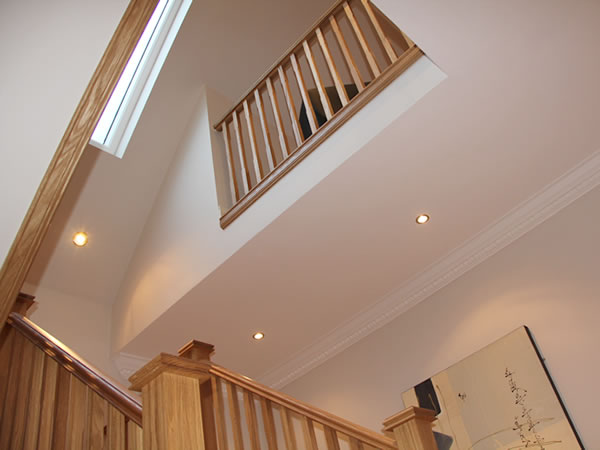 stairs in new extension