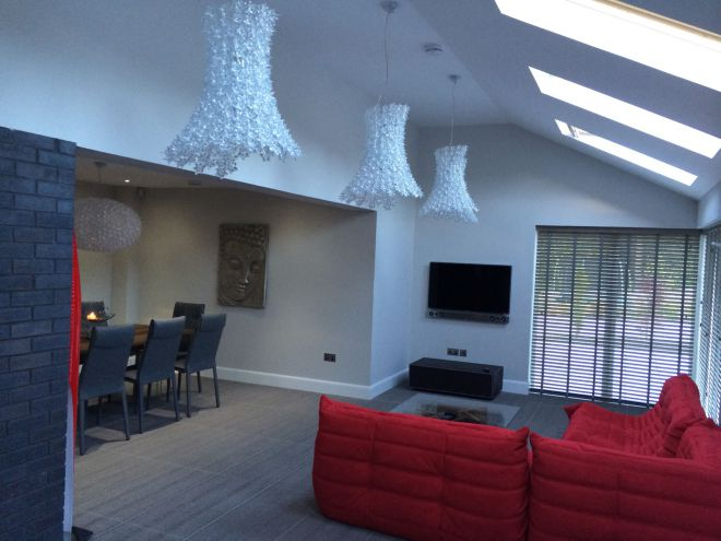 Dining room and extension