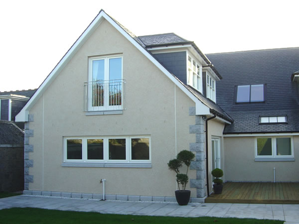 New build houses by CMJ Aberdeen