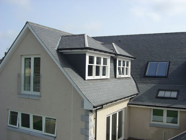 new build with dormers