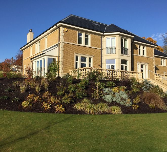 mansion house new build by CMJ Aberdeen - 2014