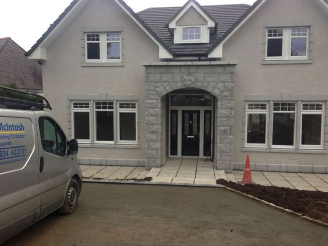 house build by CMJ Aberdeen - 2014