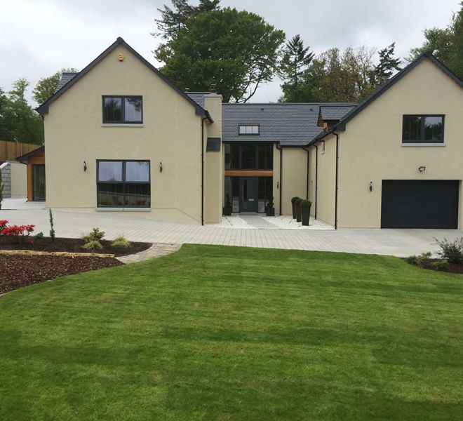 Large New Build house - builders CMJ Aberdeen