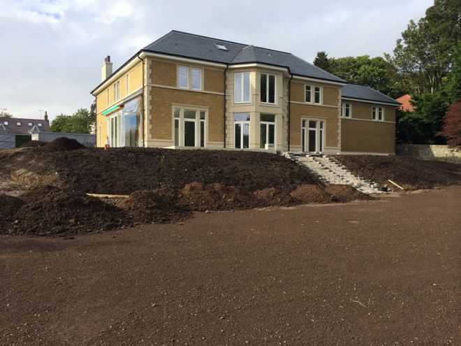 mansion house build by CMJ Aberdeen - 2014