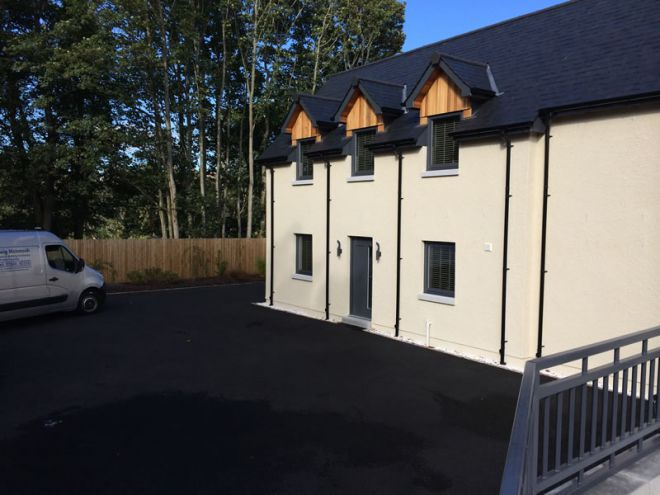 New build houses by CMJ Aberdeen - 2014