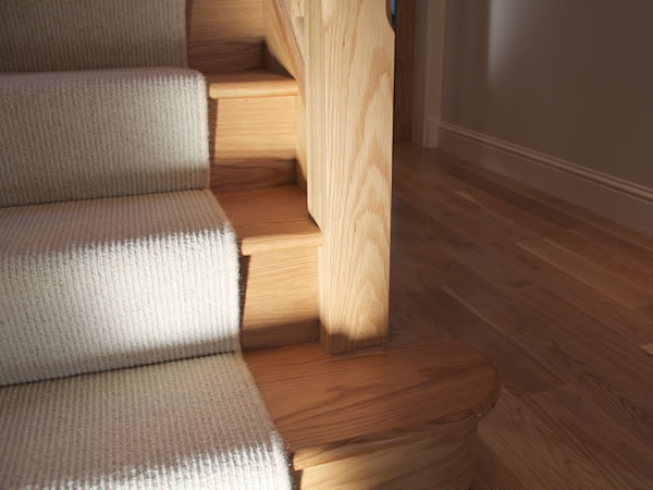 wooden stair fitter